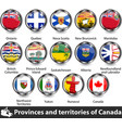 flags canada vector image