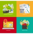 Investing and Personal Finance vector image