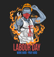 labour day ok vector image vector image
