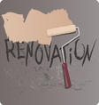 Renovation vector image vector image