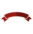 ribbon banner isolated vector image vector image