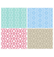 seamless chinese pattern in modern style vector image vector image