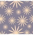seamless pattern with simple shapes vector image