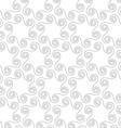 Slim gray octopus shapes vector image vector image