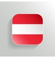 Button - Austria Flag Icon vector image