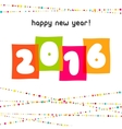 2016 Happy New Year background The file vector image vector image