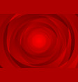 abstract red swirl circles tech corporate vector image