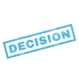 Decision Rubber Stamp vector image vector image