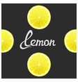 Funny of lemon vector image vector image