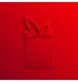 modern gift light icon background vector image