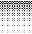 monochrome abstract geometric halftone circle vector image vector image