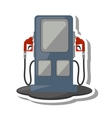 oil service station pump isolated icon vector image