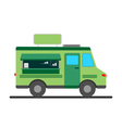 Street food truck vector image