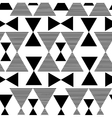 Abstract black geometric pattern vector image