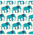 animal seamless pattern elephant vector image