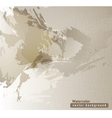 brown watercolor texture vector image vector image