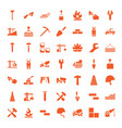 build icons vector image vector image
