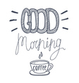 cood morning vector image