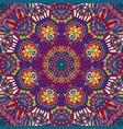 flower ethnic seamless design vector image vector image