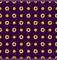 purple pattern background with golden glittering vector image vector image