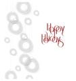 Abstract White Ornamental Christmas Ball creative vector image