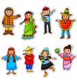ethnic diversity vector image