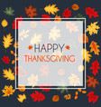 abstract autumn happy vector image vector image