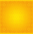 arabesque geometric seamless contour yellow vector image vector image