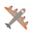 cargo airplane icon image vector image vector image