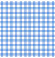 checkered blue tablecloth seamless pattern vector image vector image