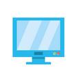 computer screen symbol vector image vector image