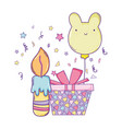 happy birthday cartoons vector image