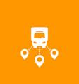 logistics delivery service icon vector image vector image