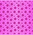 Pink seamless pattern with sakura