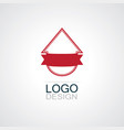 pinned sell home business logo vector image