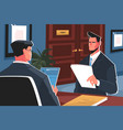recruiting in business vector image