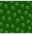 Vitamin artichoke doodle pattern for kitchen vector image vector image