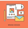 Brand Design vector image