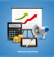 business realistic concept vector image vector image