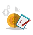 Business solutions icons vector image