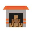 cardboard boxes icon image vector image vector image