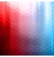 Colorful polygonal background vector image vector image
