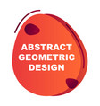 Creative abstract geometric background with