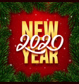happy new year 2020 background banner vector image vector image
