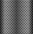 seamless perforated metal backgrounds dimples vector image