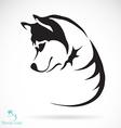 Siberian husky vector image vector image