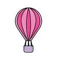 balloon air hot icon vector image vector image