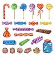 candies set vector image vector image