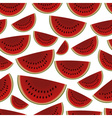 colorful sliced melon fruits seamless pattern vector image vector image