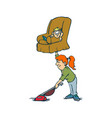 creative design concepts housewife activity vector image vector image